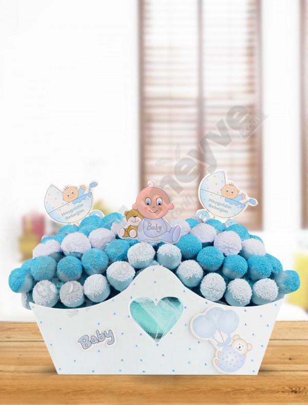 Baby Blue Maxi-Bebek Hediyesi