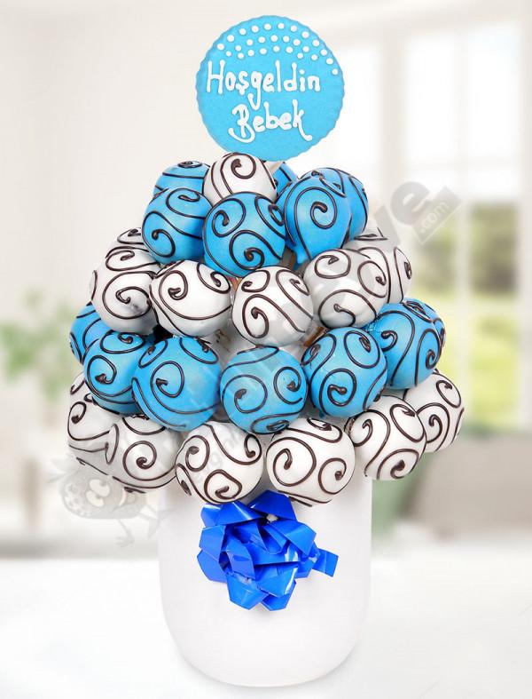 Blue White Bebek Sepeti