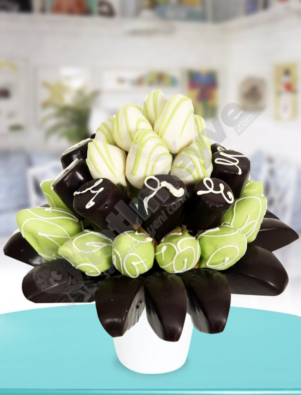 Choco Fest Çikolatalı Meyve Sepeti