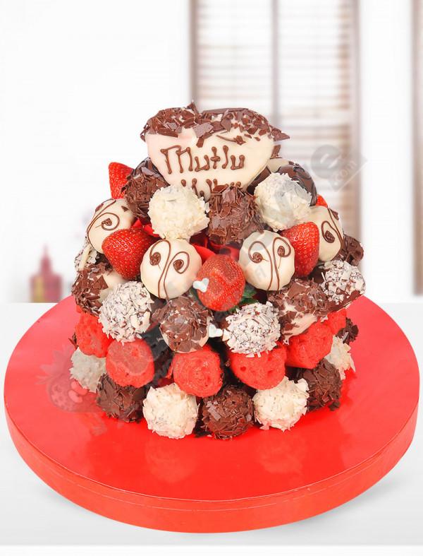 Colorful Birthday Özel Tasarım Pasta