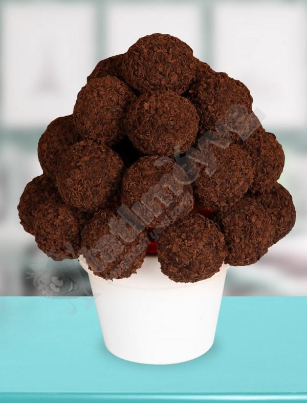 Dark Chocolate Çiçeği