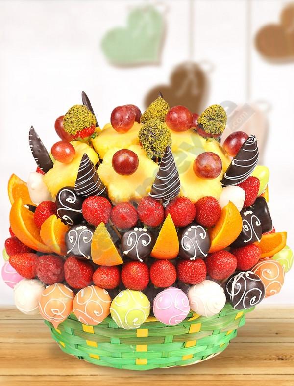 Freesia Meyve Sepeti-Tatlı Meyve