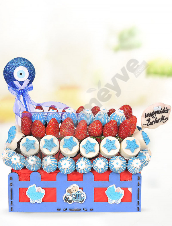 Mavi Boncuk Bebek Sepeti