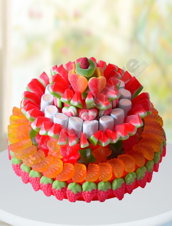 Meyveli Şeker Sepeti