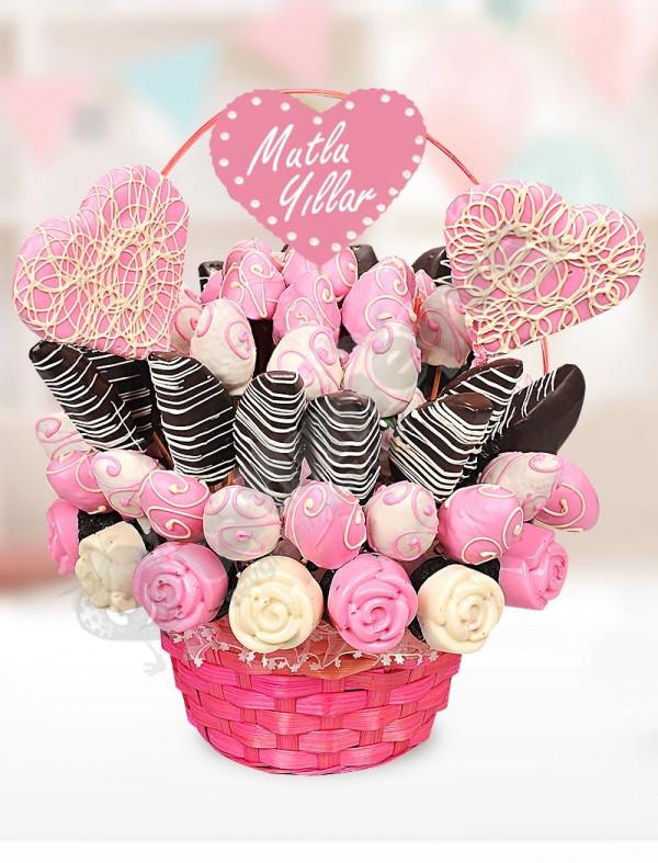 Pink Cake Doğum Günü Hediyesi