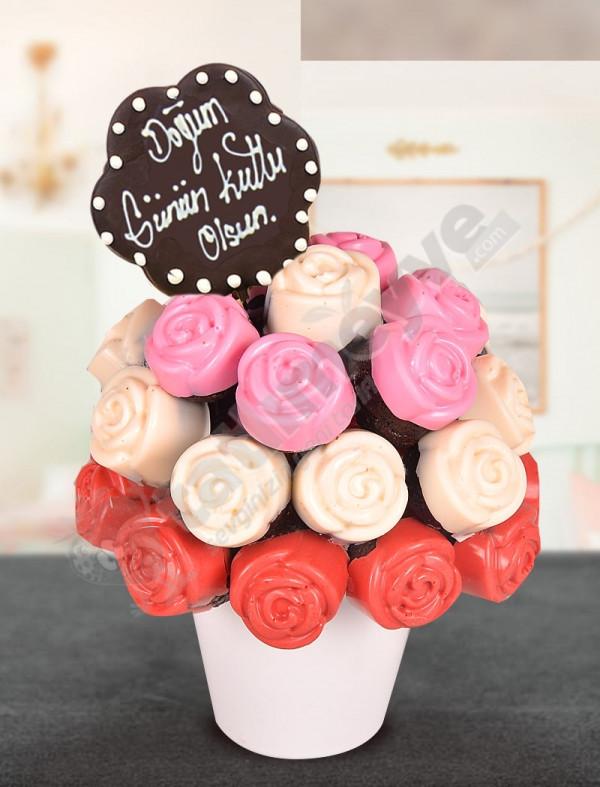 Pink Dear Kek Çiçekleri