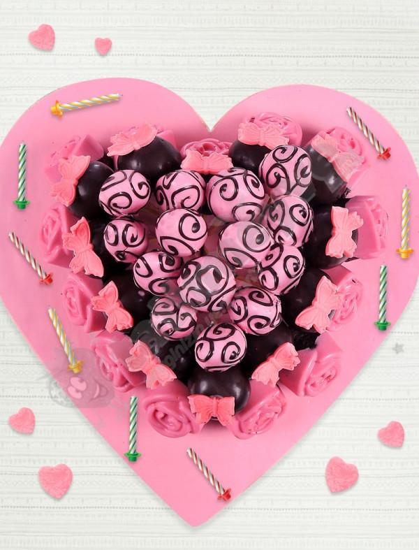 Pink Dreams Kek Çiçekleri