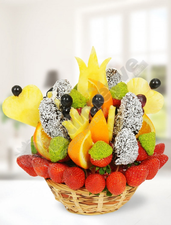 Tulip Basket Meyve Sepeti