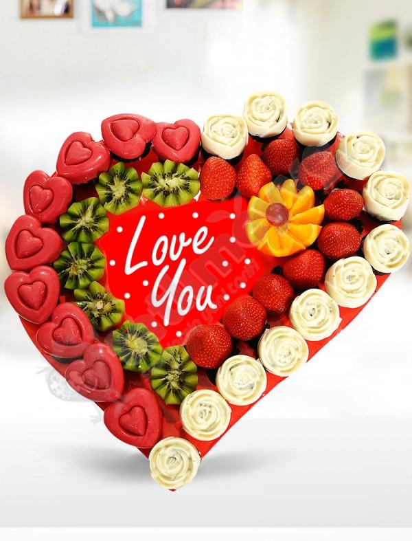 Valentine Meyve Sepeti