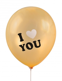 Balon I Love You 4