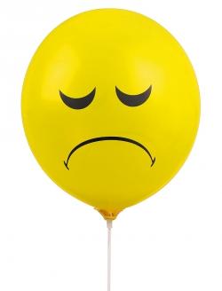 Balon Üzgünüm Sarı