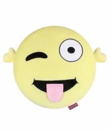 Çılgın Peluş Smiley Yastık