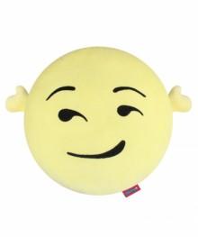 Havalı Peluş Smiley Yastık