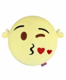 Romantik Peluş Smiley Yastık