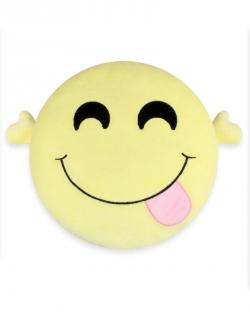 Tatlı Peluş Smiley Yastık