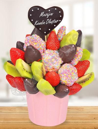Aşk Karnavalı Meyve Sepeti