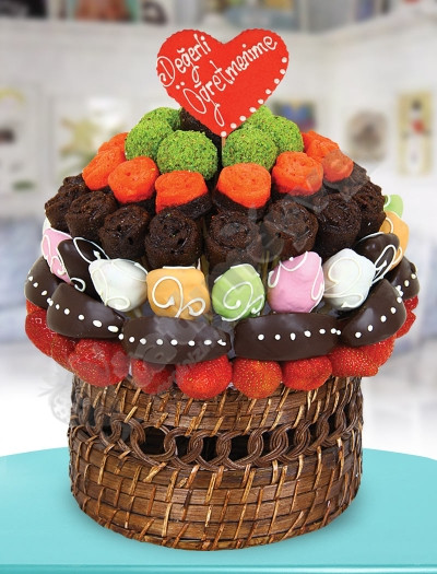 CakeBasket Karışık Meyve Sepeti