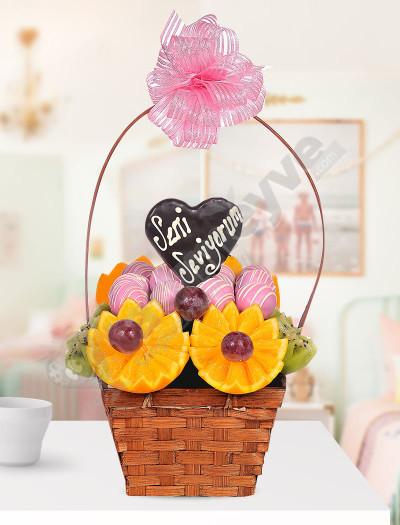 Candy Basket Meyve Sepeti