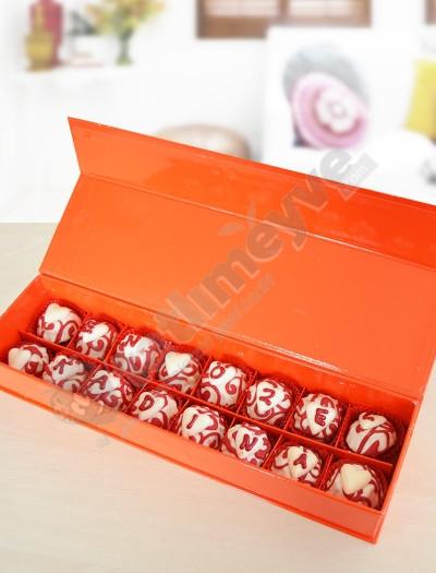 Choco  Love - Truffle Çiçekleri