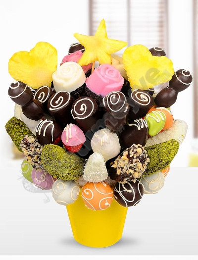 Chocolate Flower Meyve Sepeti