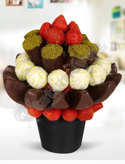 ChocolateFruit Karışık Lezzet Çiçeği