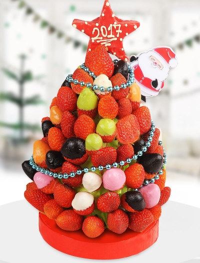 Christmas Fruit Meyve Sepeti