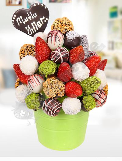 Çikolata Buketi Meyve Sepeti