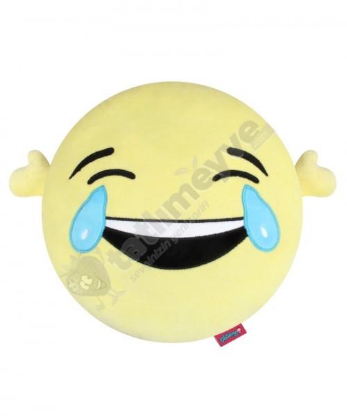 Komik Peluş Smiley Yastık