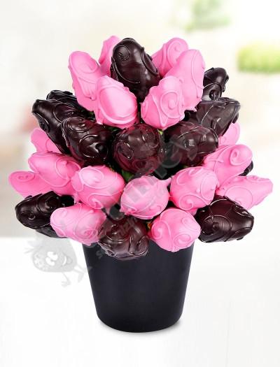 Lotus Flower  Çikolatalı Meyve