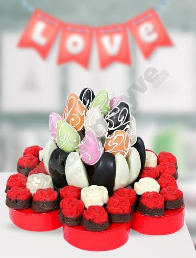 Lovely Gift Karışık Meyve Sepeti