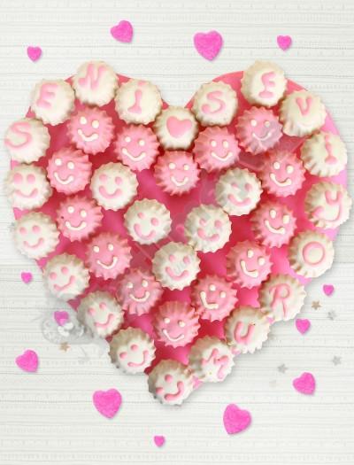 Merry Kek  Çiçekleri