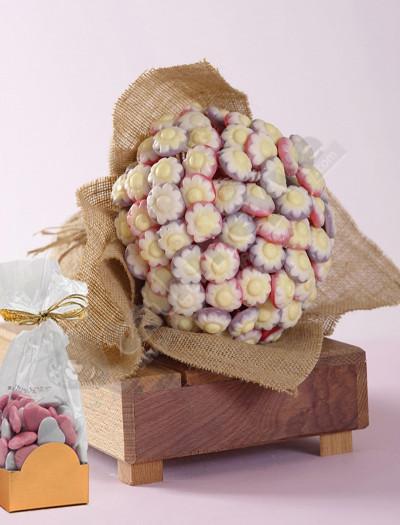 Papatya Buketi Ve Çikolata Paketi