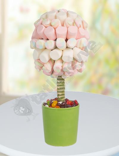 Pembe Marşmelov Ağacı