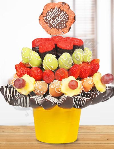 Rengarenk Kutlama Meyve Sepeti