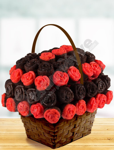 Rose Basket Kek Sepeti
