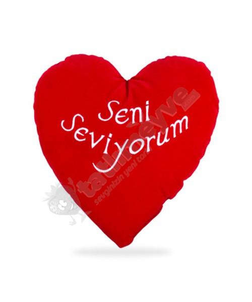 Peluş Seni Seviyorum 70 cm Yastık