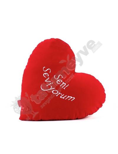 Sevgiliye Kalp Yastık 50 cm