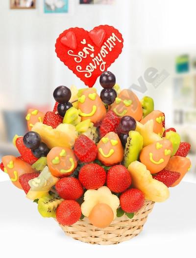 Smile Basket Meyve Sepeti