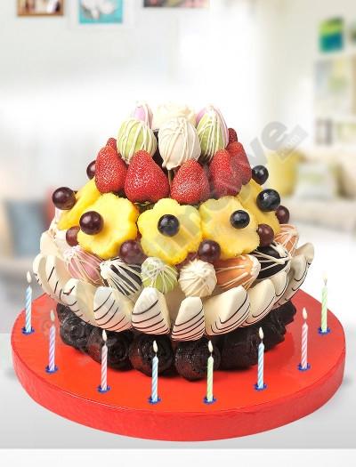 Star Birthday - Doğum Günü Pastası