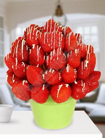 Strawberry Love Meyve  Çiçekleri