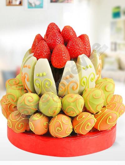 Strawberry Tower Meyve Çiçekleri