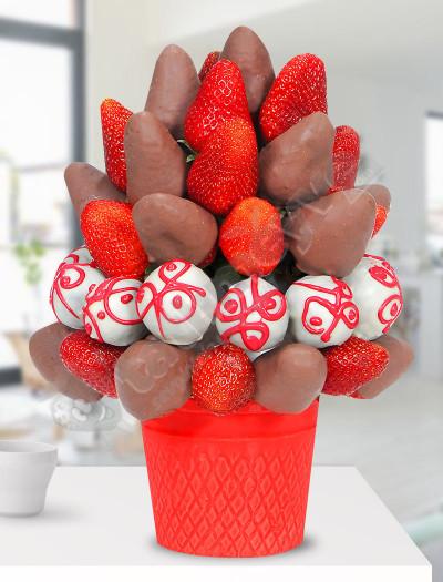 Sütlü Çikolata Kutlama Sepeti