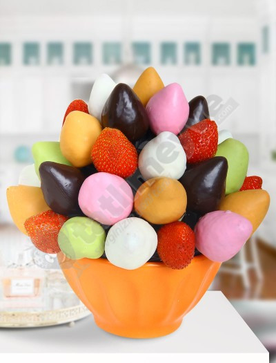 Sweets Çikolatalı Çilek Sepeti