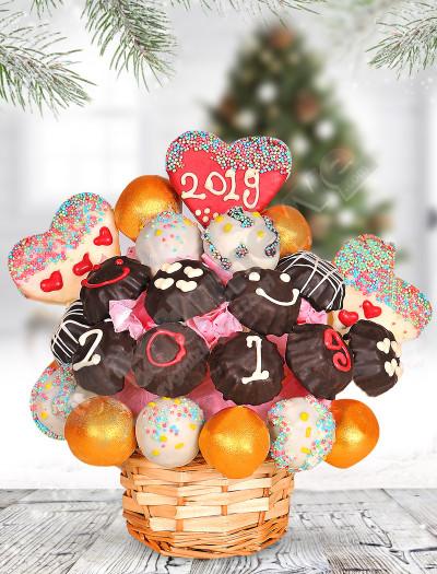 Yeni Yıl Kutlama Sepeti