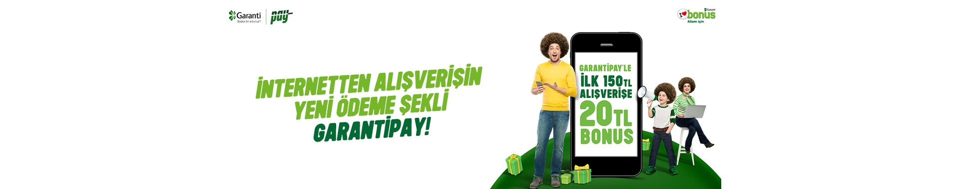 GarantiPay ile Tatlı Meyve Alışverişlerinizde 20 TL bonus fırsatı!
